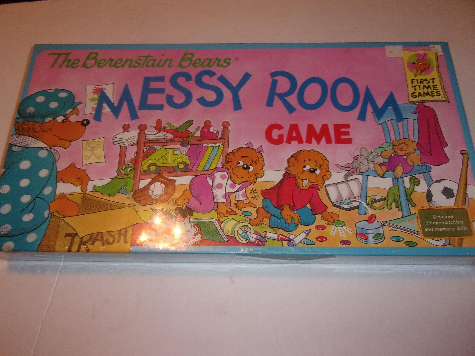 NOUVEAU  Berenstain Bears désordonné salle jeu de plateau (hard to find)