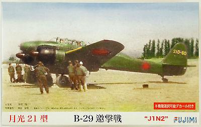 Fujimi C10 Nakajima J1N2 Gekko (Irving) Type 21 1/72 scale kit NZA