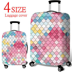 Elastic-Luggage-Cover-Case-Suitcase-Protector-for-18-039-039-32-039-039-Travel-Accessories