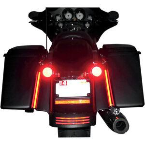 Custom Dynamics 8 Quot Plasma Rod Tail Light Kit Harley Davidson Street Glide Ebay