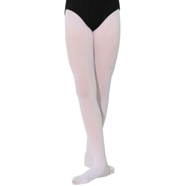 218e87632 Danzcue Girls Ultra Soft Footed Tights