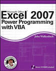 Excel 2007 Power Programming with VBA by John Walkenbach (Paperback, 2007)