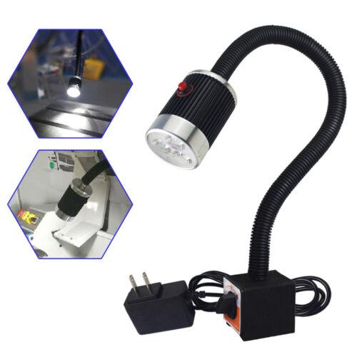 6W CNC Maschinenlampe LED Arbeitsleuchte Magnetische Schwanenhals Flexibel Licht