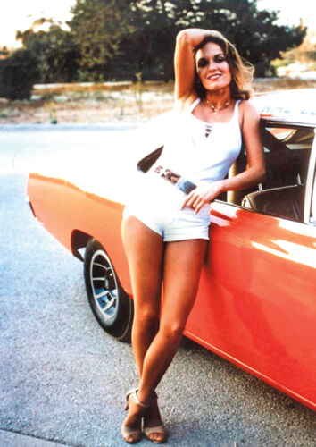 The Dukes of Hazzard Daisy General Lee Poster