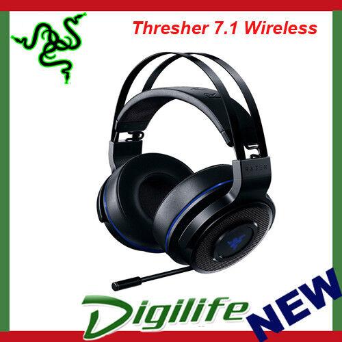 RAZER Thresher 7.1 Wireless Surround Gaming Headset PS4 & PC RZ04-02230100-R3M1