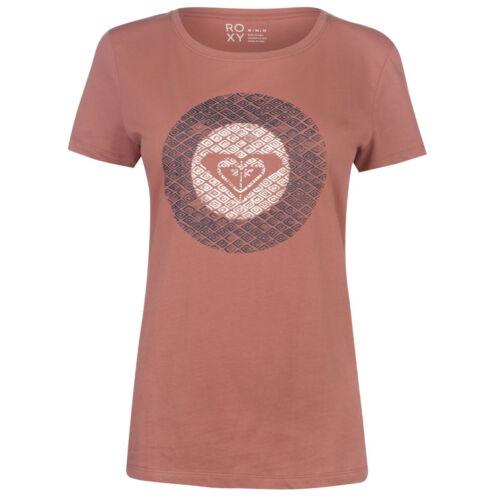 Roxy señora t shirt tshirt t-shirt manga corta top casual ocio Spirit Mountain 98