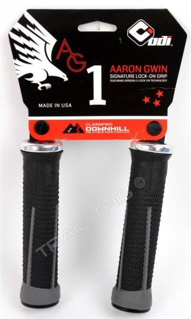Odi Ag-2 V2.1 Lock On Grips W// Clamps Bonus Pack Black Graphite 130Mm Bike