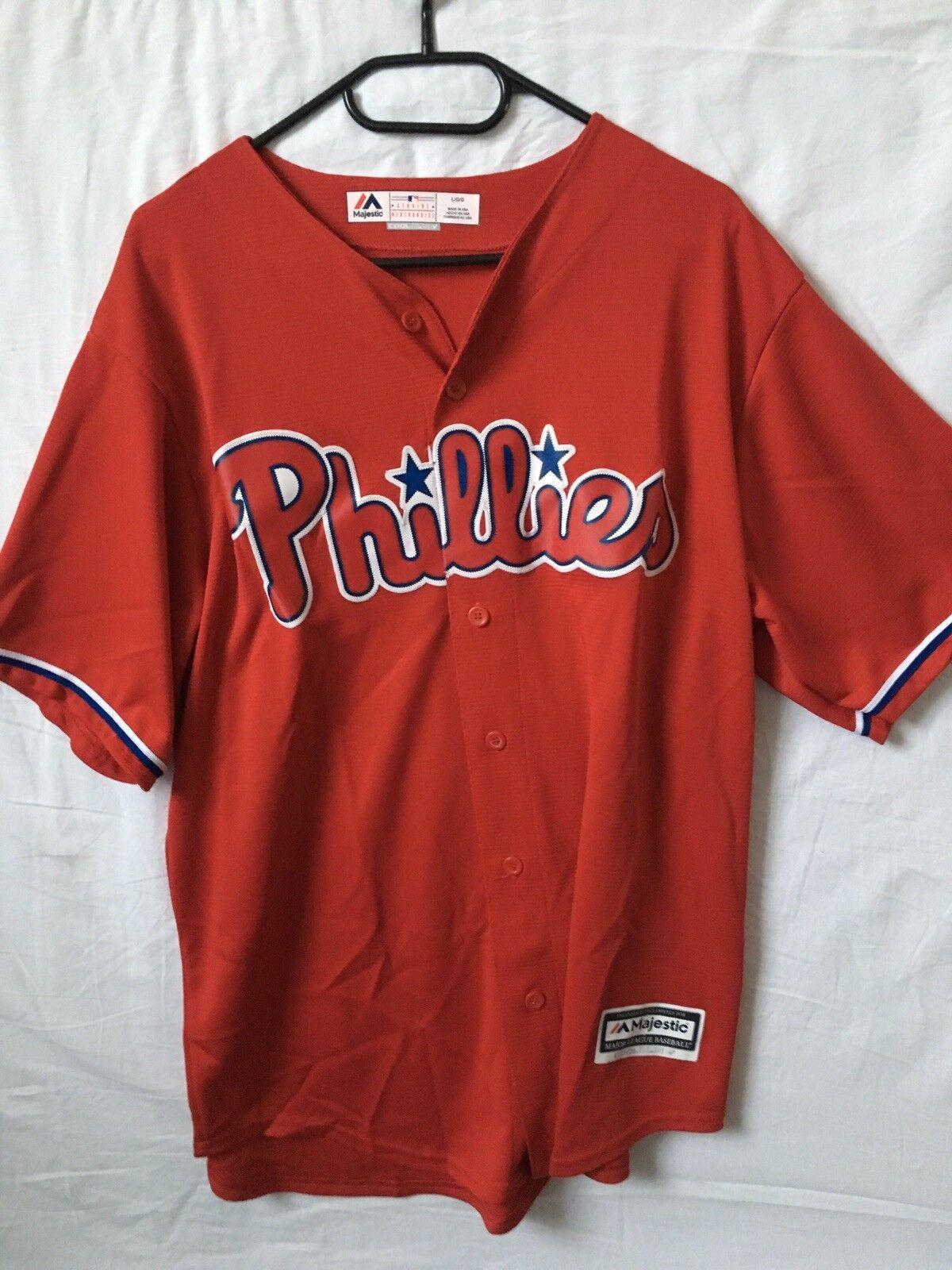 Majestic Philadelphia Phillies ALT 2 official jersey - Größe Größe Größe large 20a5dc
