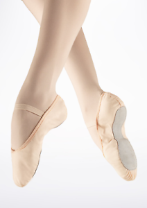 Pink canvas Freed/ roch valley gamba full sole ballet shoes - all sizes