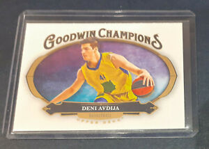 2020 Goodwin Champions Basketball - Devi Avdija Rookie Card #93 - Tel Aviv RC