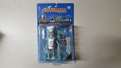 FUTURAMA CHEF BENDER Figure - Moore Action Collectibles - Previews Exclusive