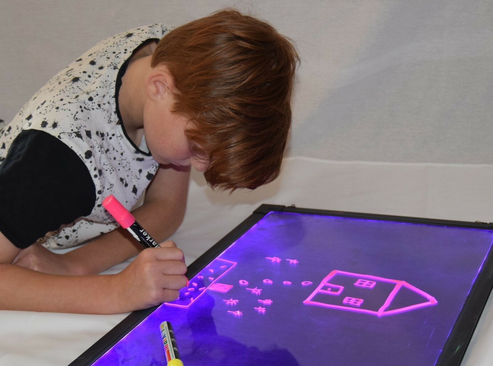 Sensory LED board, light up, drawing writing,toy,special needs,autism, ASD, ADHD
