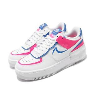 Nike Wmns Af1 Shadow Air Force 1 White Pink Womens Lifestyle Shoes