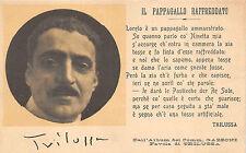 C660) BOLOGNA, PASTICCHE RE SOLE, SONETTO DI TRILUSSA PAPPAGALLO RAFFREDDATO.
