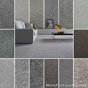 Image Is Loading Grey Carpet Cheap Carpets Loop Twist Amp