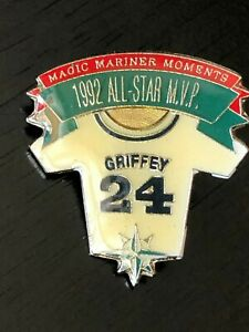 Vintage-Griffey-24-Shirt-Seattle-Mariners-1992-All-Star-Game-MVP-Metal-Pinback