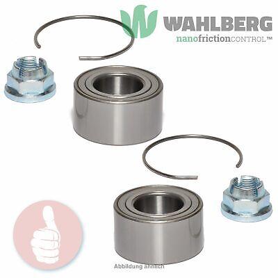 2 x Original WAHLBERG Radlager Radlagersatz WB96566 Vorderachse