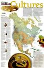 North American Indian Cultures by National Geographic Maps (Sheet map, rolled, 2006)