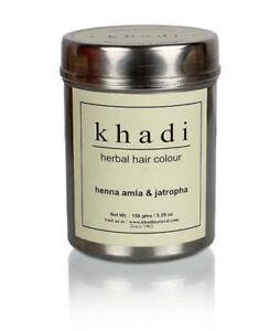 New-Khadi-Herbal-Henna-Amla-amp-Jatropha-Hair-Color-Natural-Product-150-gm