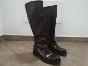 HOGAN-stivali-galosce-shoes-logo-chaussures-zapatos-anti-pioggia-size-EU-37-5