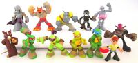 Teenage Mutant Ninja Turtles 12 Figure Set Pvc Toy Cake Topper Splinter Krang
