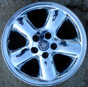Image Is Loading 97 98 99 Cadillac Catera Chrome Wheel Rim