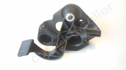 AUDI A8 S8 D3 Hood Latch Release Handle Black Lever 2003-2010 4E1823533E Genuine