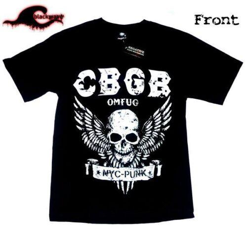 CBGB Tshirt OMFUG Home of Underground Punk Rock Club Legendary NYC T-shirt NEW