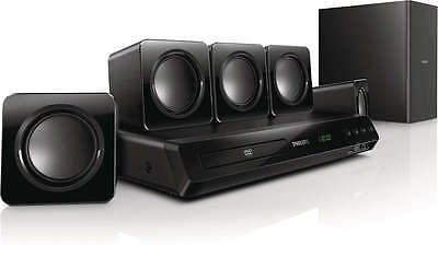 Philips HTD3509 300W Powerful Surround Sound Full HD 5.1 DVD Home Theatre System