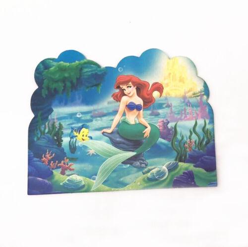 10 x The Little Mermaid Kids Party Invitations Happy Birthday
