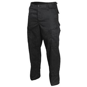 Pantalones-US-Ranger-BDU-Negro-Soldado-Ejercito-Carga-Militar-Nuevo