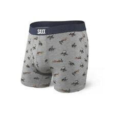 SAXX Quest Adventure Boxer Brief Fly Midnight Blue Extra Large