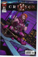 Crimson # 4 Image Comic Book First Print NM (1998) Humberto Ramos Wildstorm