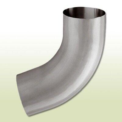 Verarbeitung Obligatorisch Aluminium Fallrohrbogen Dn 80/72 Grad Exquisite In