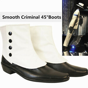 MJ-Michael-Jackson-SMOOTH-CRIMINAL-Easy-45-Degrees-Leaning-Dancing-shoes-Boots