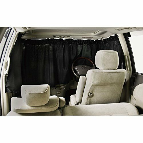 BONFORM curtain Vehicle night shut curtain front 3-point 7901-03BK From Japan