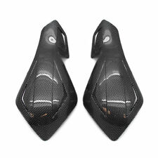 "7/8"" Dirt Bike Dirtbike ATV Motorcycle Brush Bar Hand Guards Handguard Carbon"