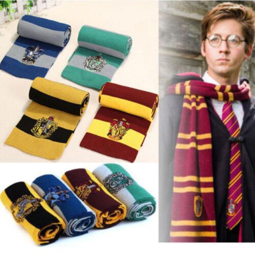 Harry Potter Gryffindor Slytherin Hufflepuff Krawatte Cosplay Outfit Kostüm Lot