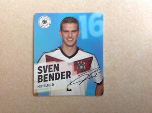 REWE-WM-DFB-2014-Sammelkarten-Nr-16-Sven-Bender-Mittelfeld