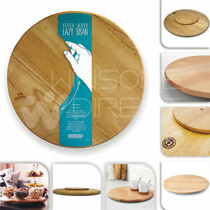 The White House Cooking Style Wooden Rotating Kitchen Board
