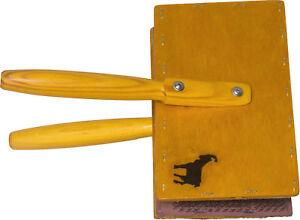 Main cardes (Paire) grande taille 20x13cm poids léger 72TP Laine Feutre Spinning  </span>