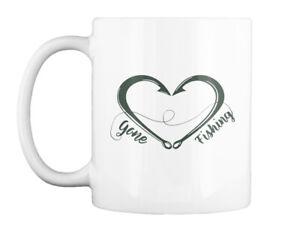 Custom-made Gone Fishing Gift Coffee Mug Gift Coffee Mug