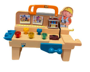 Bob-The-Builder-Tool-Work-Bench-Toy-Musical-Sound-Light-TESTED-WORKS-GREAT