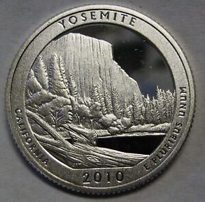 2010-S Silver Proof ATB Quarter YOSEMITE