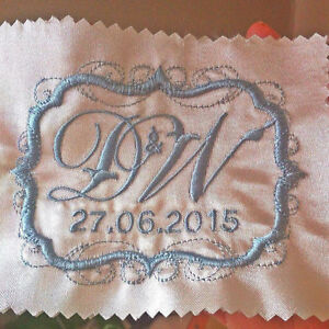 2019 New Style Groom Embroidery Sew On Wedding Name Patch Tag Apparel & Merchandise Kids' Clothing, Shoes & Accs