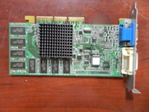 ATI R128P 16MB VGA DVI AGP Video Card PN 1026301301 021456 from Mac G4