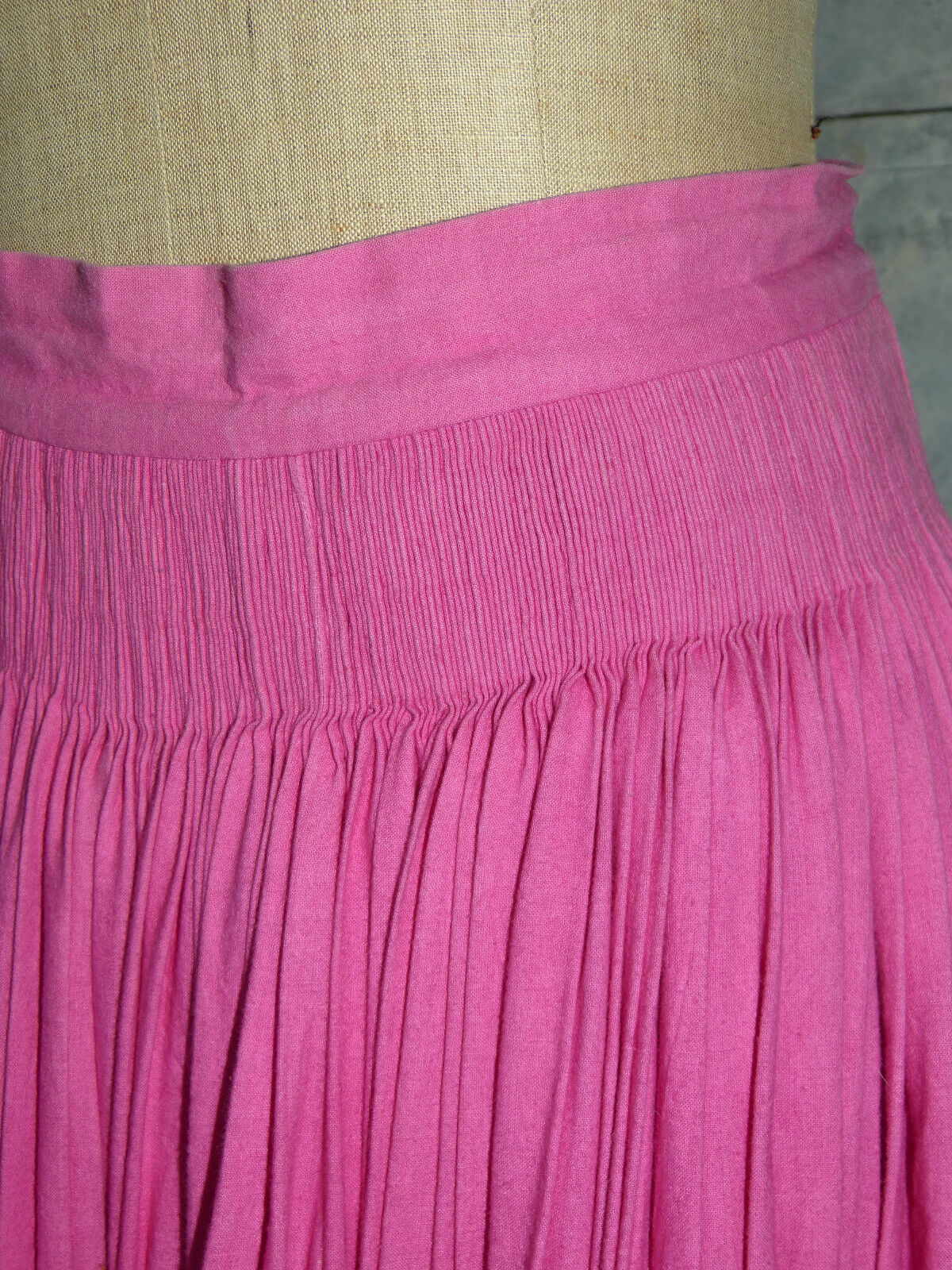 MAGNIFIQUE MAGNIFIQUE MAGNIFIQUE JUPE LONGUE rosa VINTAGE SOULEIADO PROVENCE FRANCE T F 36 38 05ded5