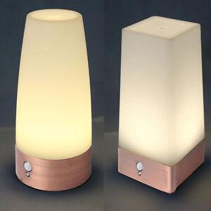 sans fil capteur pir d tecteur de mouvement lampe couloir table led veilleuses ebay. Black Bedroom Furniture Sets. Home Design Ideas