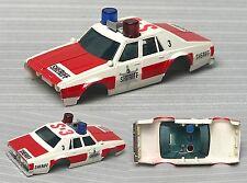 1983 Aurora AFX Chevy Caprice Pursuit Sheriff HO Slot Car BODY Unused NO BUMPER