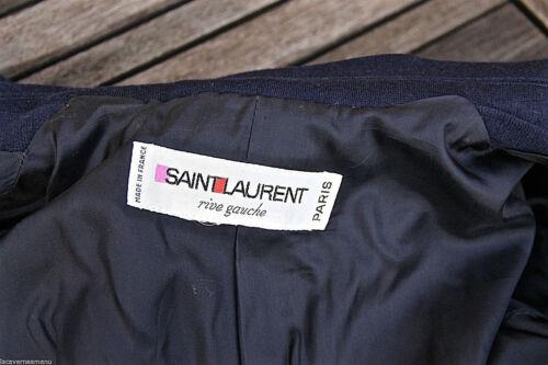 Cappotto 40 in Rive Cappotto lana 38 Yves Saint lussuoso Gauche Foglio Laurent Taglia rRCqUr7xw